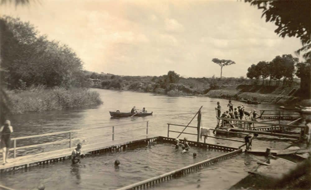 A importância e a história da piscina
