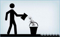 Dissolva o cloro num balde com água da piscina