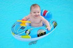 Medidas de higiene na piscina