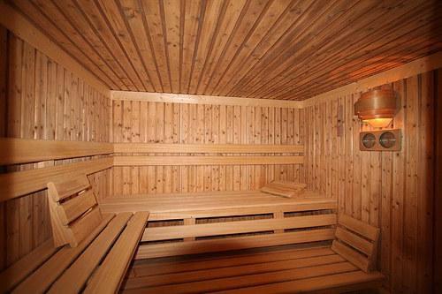 Ambiente da sauna seca