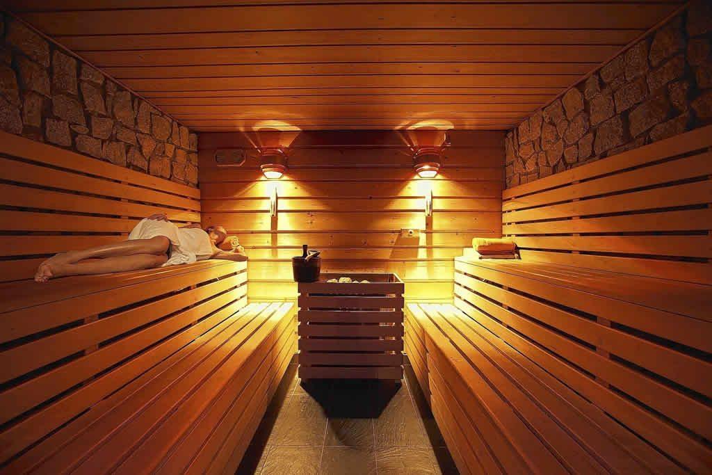 Ambiente da Sauna