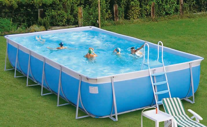 piscina de plastico como montar