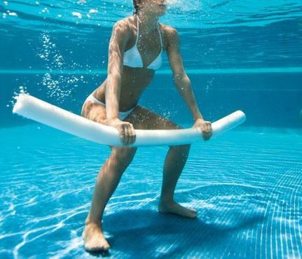 Exercícios de piscina
