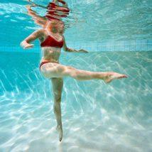 Exercícios dentro da piscina