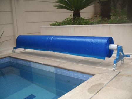 Capa t rmica para piscina compensa for Motor para depuradora de piscina