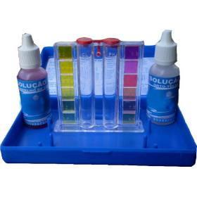 Estojo de medição de pH da piscina