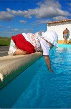 Dicas de prevenção de acidentes na piscina