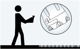 Regule o tamanho dos orifícios do flutuador
