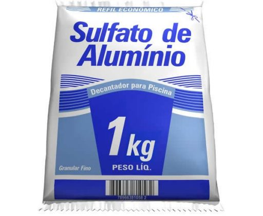 Sulfato de alumínio para piscina