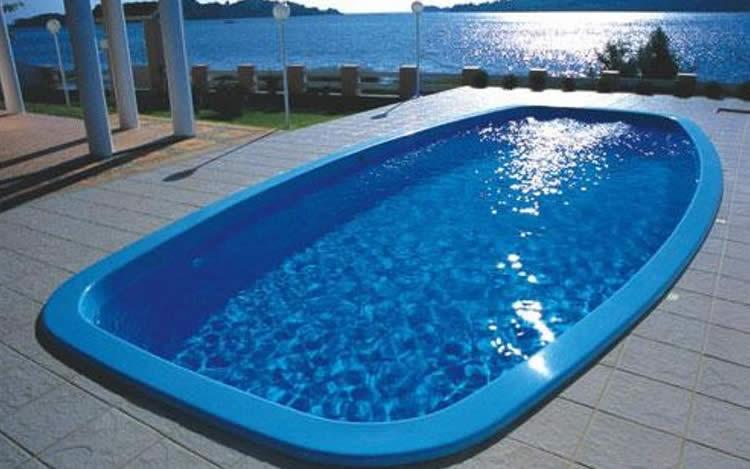 Vantagens da piscina de fibra for Piscinas de fibra instaladas
