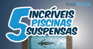 5 piscinas suspensas