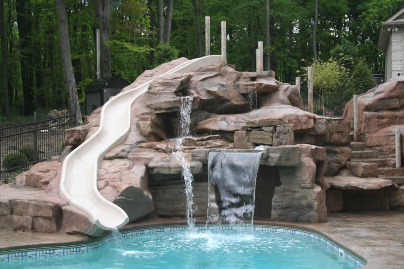 Cascata para piscina veja os tipos de cascatas de piscinas for Constructor piscinas