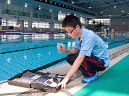 Controlando o pH e a alcalinidade de piscinas