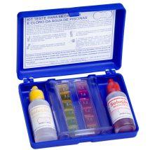 Kit de testes de cloro para piscina