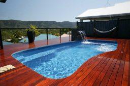 Os parâmetros da piscina