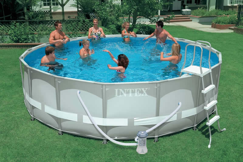 Piscinas intex infl veis e de arma o for Piscinas rectangulares intex