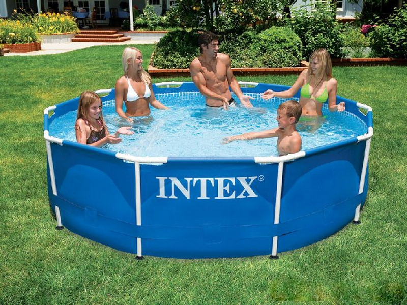 Piscinas intex infl veis e de arma o for Piscina estructural intex