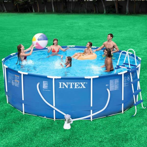 Piscinas intex infl veis e de arma o - Fotos de piscinas intex ...