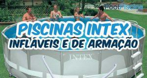Piscinas infláveis e de armação Intex