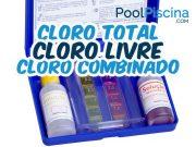 Cloro livre, cloro combinado, cloro total
