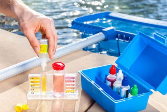 A química da piscina