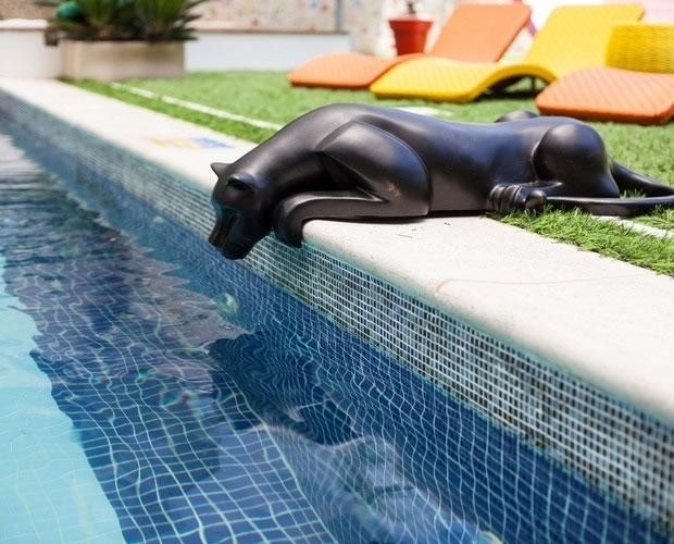 a maneira correta de limpar a borda da piscina