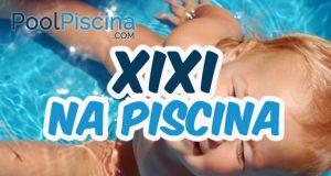 Xixi na piscina