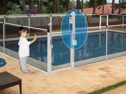 Cerca de segurança para piscinas - Evitando afogamentos