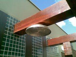 Ducha da piscina