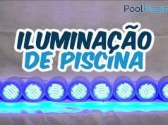 Iluminação de piscina