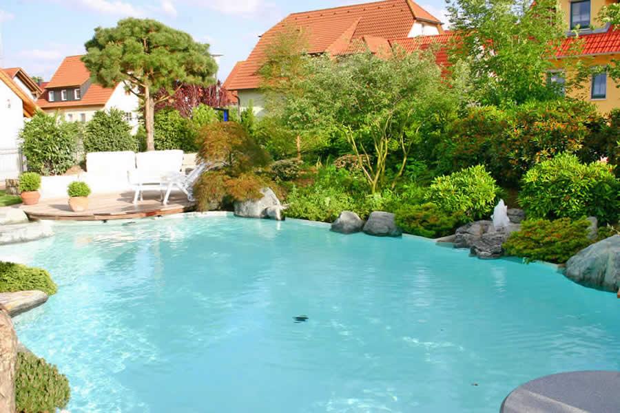 Piscina natural um lago em casa for Filtro piscina natural