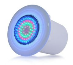 Refletor de led para iluminação de piscina