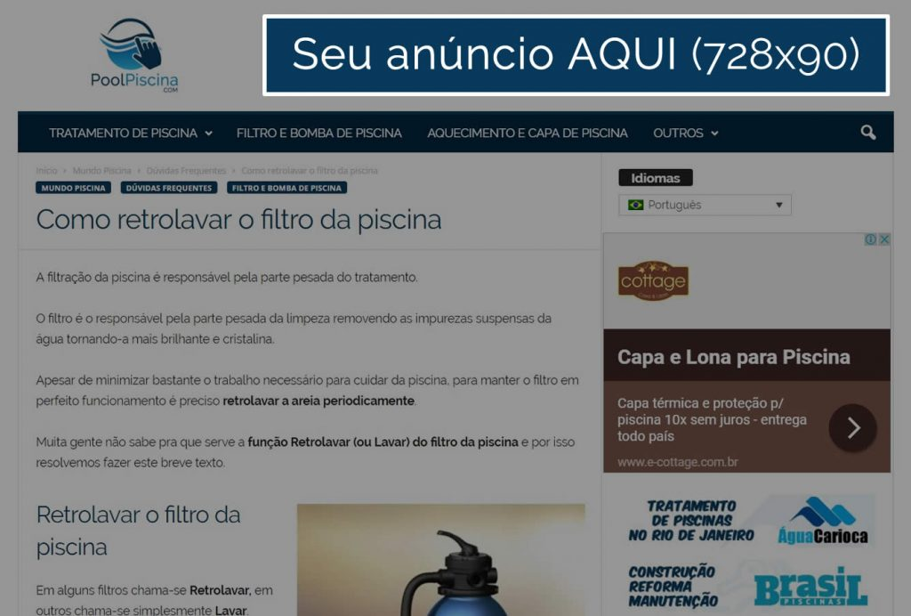 Banner Cabeçalho - 728x90