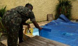 A Dengue na piscina