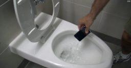 Salvando um telefone molhado