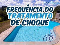 Tratamento de choque na piscina