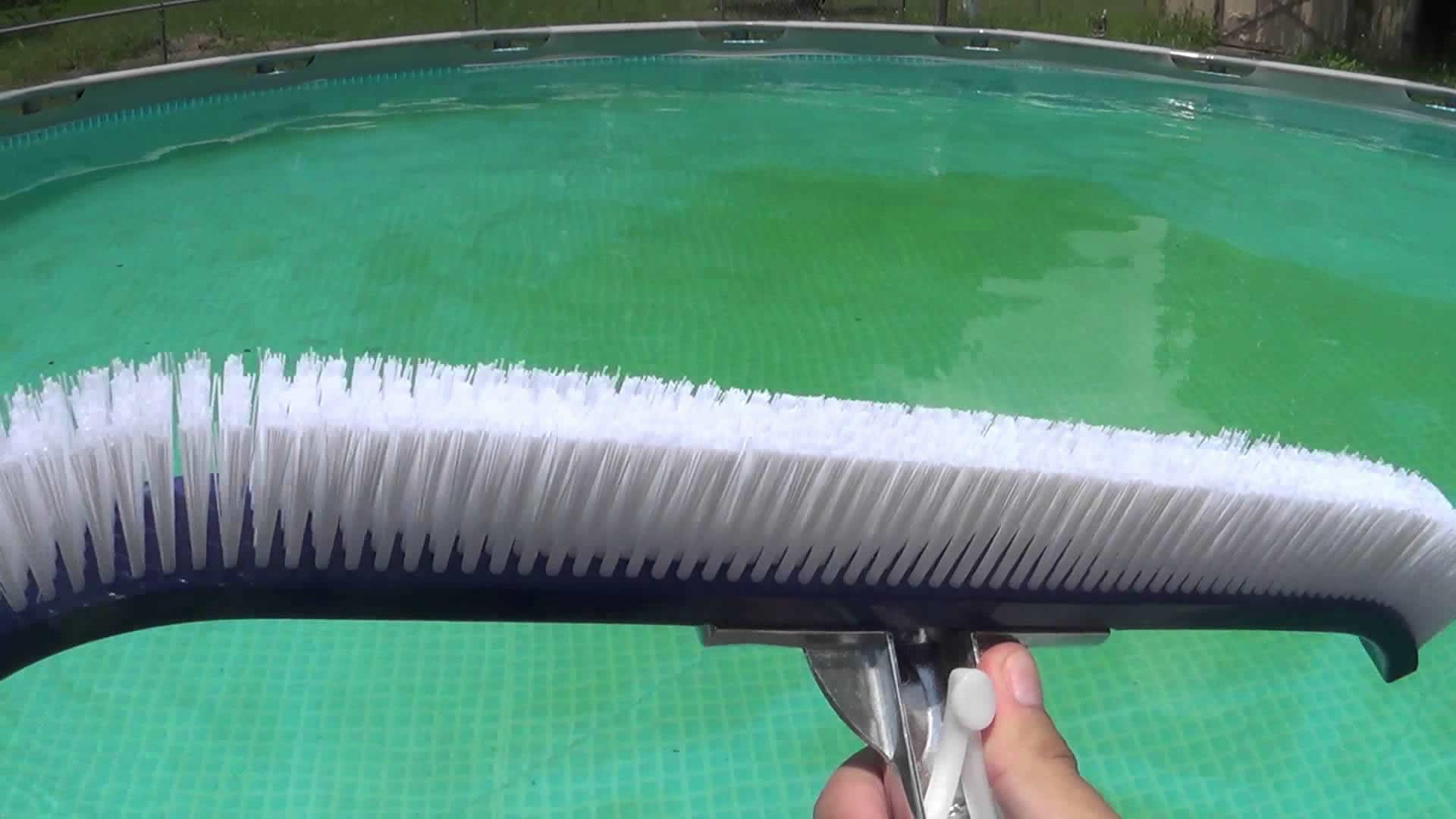 Como eliminar algas da piscina