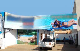Abertura da empresa de limpeza de piscina